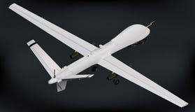 Bezpilotowy powietrzny pojazdu truteń isometric Zdjęcie Royalty Free