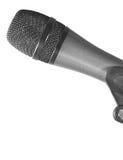 bezpośredni szczegółu mikrofon Fotografia Royalty Free
