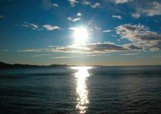 bezpośrednie słońce Fotografia Stock