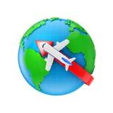 Bezpośredni lot Fotografia Stock