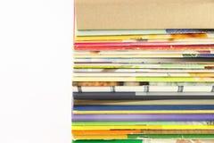 bezpośrednich magazynów palowy widok Fotografia Stock
