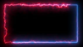 Bezproblemowa ramka sieci energetycznej zdjęcie wideo