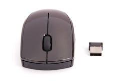 Bezprzewodowa komputerowa mysz Obraz Stock