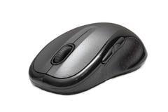 Bezprzewodowa komputerowa mysz odizolowywająca na białym tle Obraz Stock