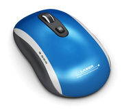 Bezprzewodowa laserowa komputerowa mysz Obraz Royalty Free