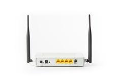 Bezprzewodowy modemu routera sieci centrum Obrazy Stock