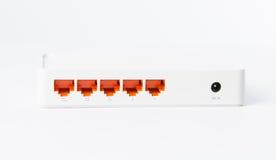 Bezprzewodowy modemu routera sieci centrum Fotografia Royalty Free