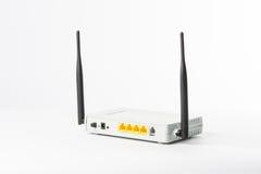 Bezprzewodowy modemu routera sieci centrum Fotografia Stock