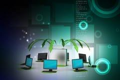 Bezprzewodowy networking system Fotografia Royalty Free