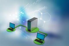 Bezprzewodowy networking system Zdjęcia Royalty Free