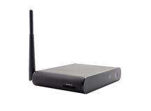 Bezprzewodowy router Odizolowywający na Białym tle Obrazy Royalty Free