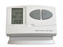 Bezprzewodowy thermo system kontrolny Fotografia Royalty Free