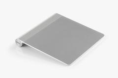 Bezprzewodowy trackpad odizolowywający na białym tle obraz stock