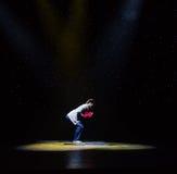 Bezradnej postaci rewoluci kulturalnej nowożytny taniec Zdjęcie Royalty Free