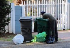Bezrobocie w apartheidzie Południowa Afryka Obraz Royalty Free