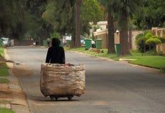 Bezrobocie w apartheidzie Południowa Afryka Zdjęcia Royalty Free