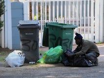 Bezrobocie w apartheidzie Południowa Afryka Obrazy Stock
