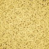 Bezszwowa żółta granitowa tekstura Obraz Royalty Free