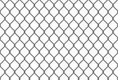 Bezszwowa żelazo sieci ilustracja metal sieci ogrodzenie Wektorowy tło Zdjęcie Royalty Free