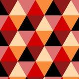 Bezszwowa abstrakcjonistyczna postać od trójboków Zdjęcie Royalty Free