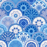 Bezszwowa abstrakta wzoru rama modny barwiony Zdjęcie Stock