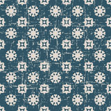 Bezszwowa będąca ubranym out antykwarska tła 053_round kwiatu geometria Obrazy Royalty Free