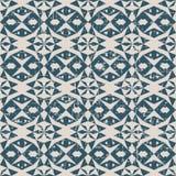 Bezszwowa będąca ubranym out antykwarska tła 059_star trójboka geometria Fotografia Royalty Free
