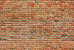 Bezszwowa ściana z cegieł tekstura Fotografia Stock