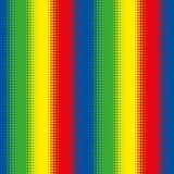 Bezszwowa Colourful Halftone wzoru lampasa tła tapeta ilustracja wektor