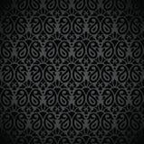 Bezszwowa czarna nutowa książkowa pokrywa Zdjęcia Stock