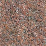 Bezszwowa Czerwona granitu kamienia tła tekstura Obraz Stock