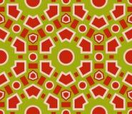 Bezszwowa deseniowa geometryczna tekstura Obrazy Royalty Free