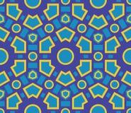 Bezszwowa deseniowa geometryczna tekstura Obraz Stock