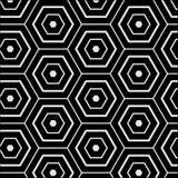 Bezszwowa deseniowa wielobok mozaika geometryczna Zdjęcie Royalty Free
