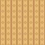 Bezszwowa geometryczna deseniowa ilustracja Obraz Stock
