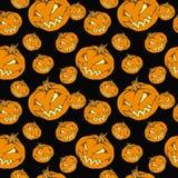 bezszwowa Halloween bania Obraz Stock