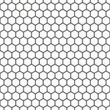 Bezszwowa Honeycomb wzoru tekstura ilustracja wektor