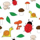 Bezszwowa jesień tekstura Zdjęcia Royalty Free