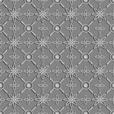 bezszwowa konsystencja Postać 3D - struktura atom Zdjęcia Royalty Free