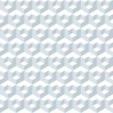 Bezszwowa kubiczna abstrakcjonistyczna geometryczna isometric deseniowa tło tekstura royalty ilustracja