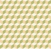 Bezszwowa kubiczna abstrakcjonistyczna geometryczna isometric deseniowa tło tekstura ilustracji