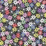 Bezszwowa kwiat ilustracja, tło Zdjęcia Stock