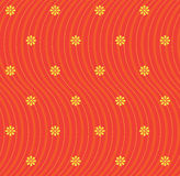 bezszwowa kwiat tapeta Zdjęcie Royalty Free