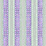 Bezszwowa kwiecista deseniowa purpurowa fiołek menchii zieleń Obraz Stock