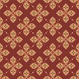 Bezszwowa kwiecista geometryczna deseniowa tapeta royalty ilustracja