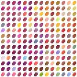 Bezszwowa mozaika pattern_4 Zdjęcia Royalty Free