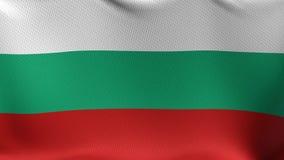 Bezszwowa pętli flaga Bułgaria royalty ilustracja