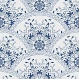 Bezszwowa patchworku wzoru rama modny barwiony royalty ilustracja