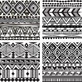 Bezszwowa plemienna tekstura ilustracji