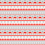 Bezszwowa Plemienna tekstura plemienny wzoru kolorowy Obraz Royalty Free